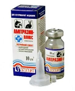 Препараты для кроликов - Амитразин-плюс (Антиклещ)