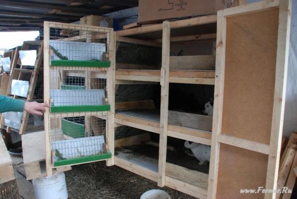 Клетка для кроликов от Николая