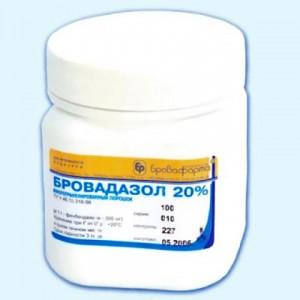 Препараты для кроликов - Бровадазол 20%