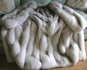 Продукция из шкурки кролика